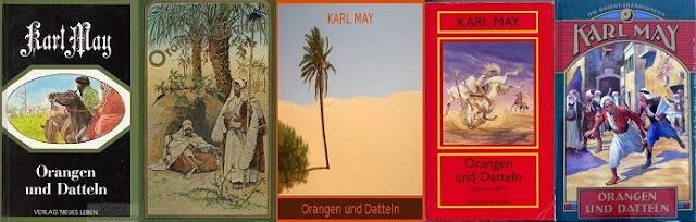Karl May A kárhozat pusztasága, A datolya honából megjelenések