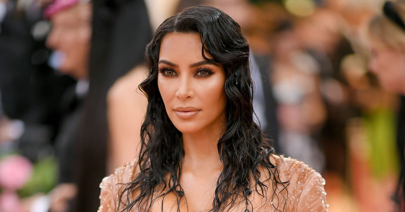 kim kardashian beauty look met gala 2019