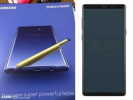 سامسونج تُقلد شاومي وأوبو Samsung Galaxy Note 9
