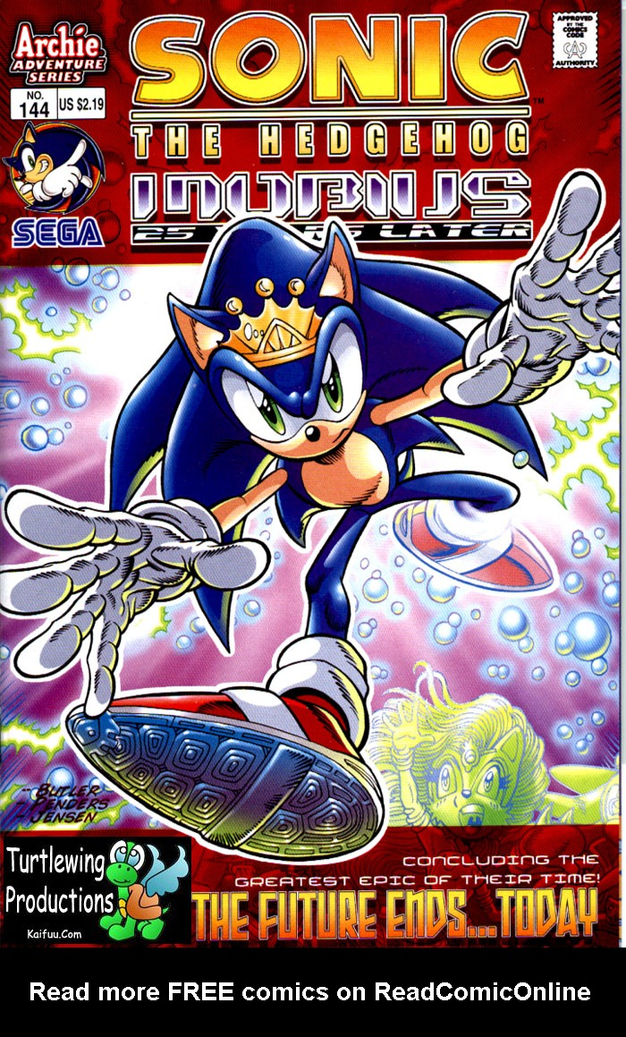 Read online Sonic The Hedgehog comic -  Issue #144 - 1