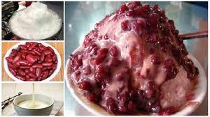 Resep Es Kacang Merah Segar Bergizi