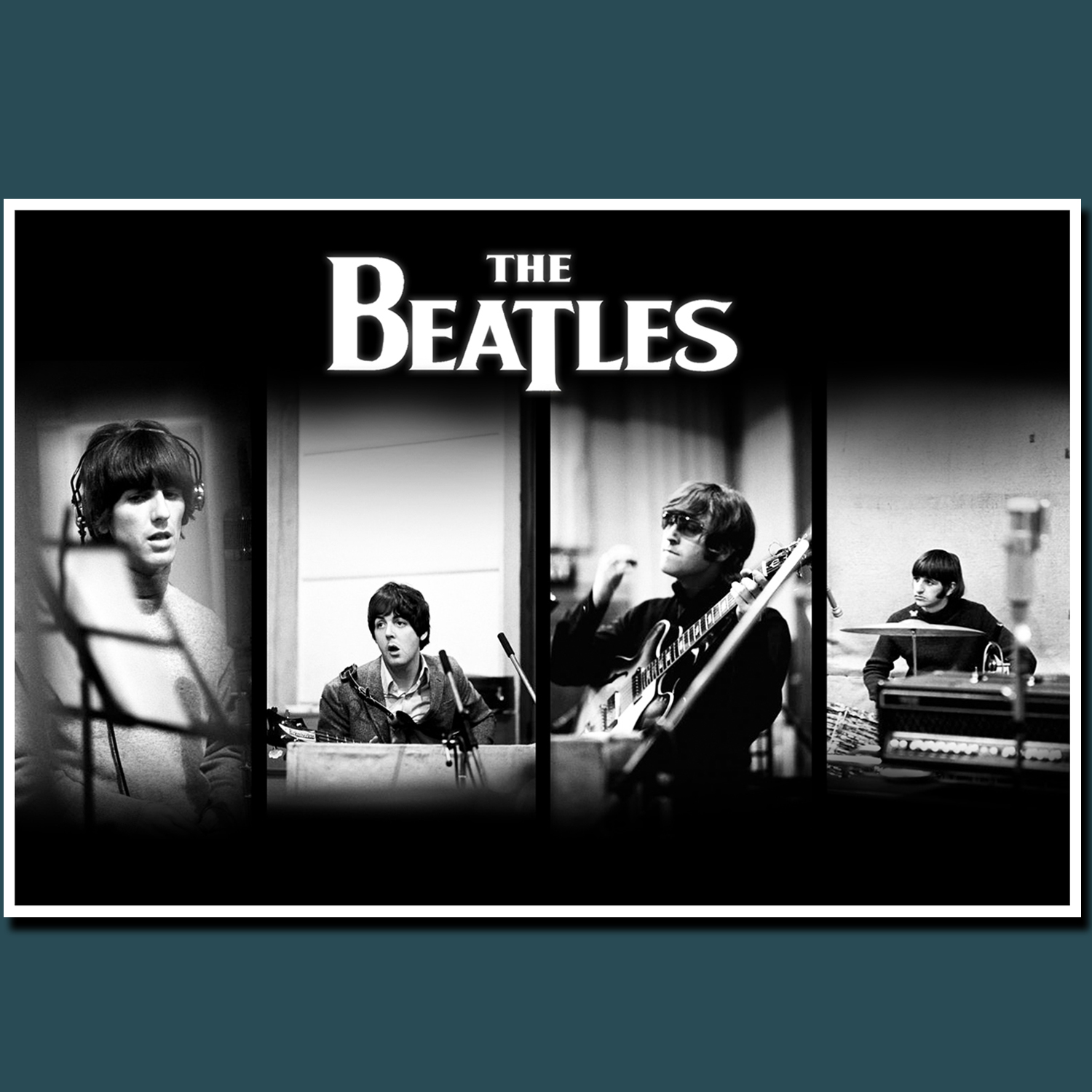 POSTER, POSTER CUSTOM THE BEATLES