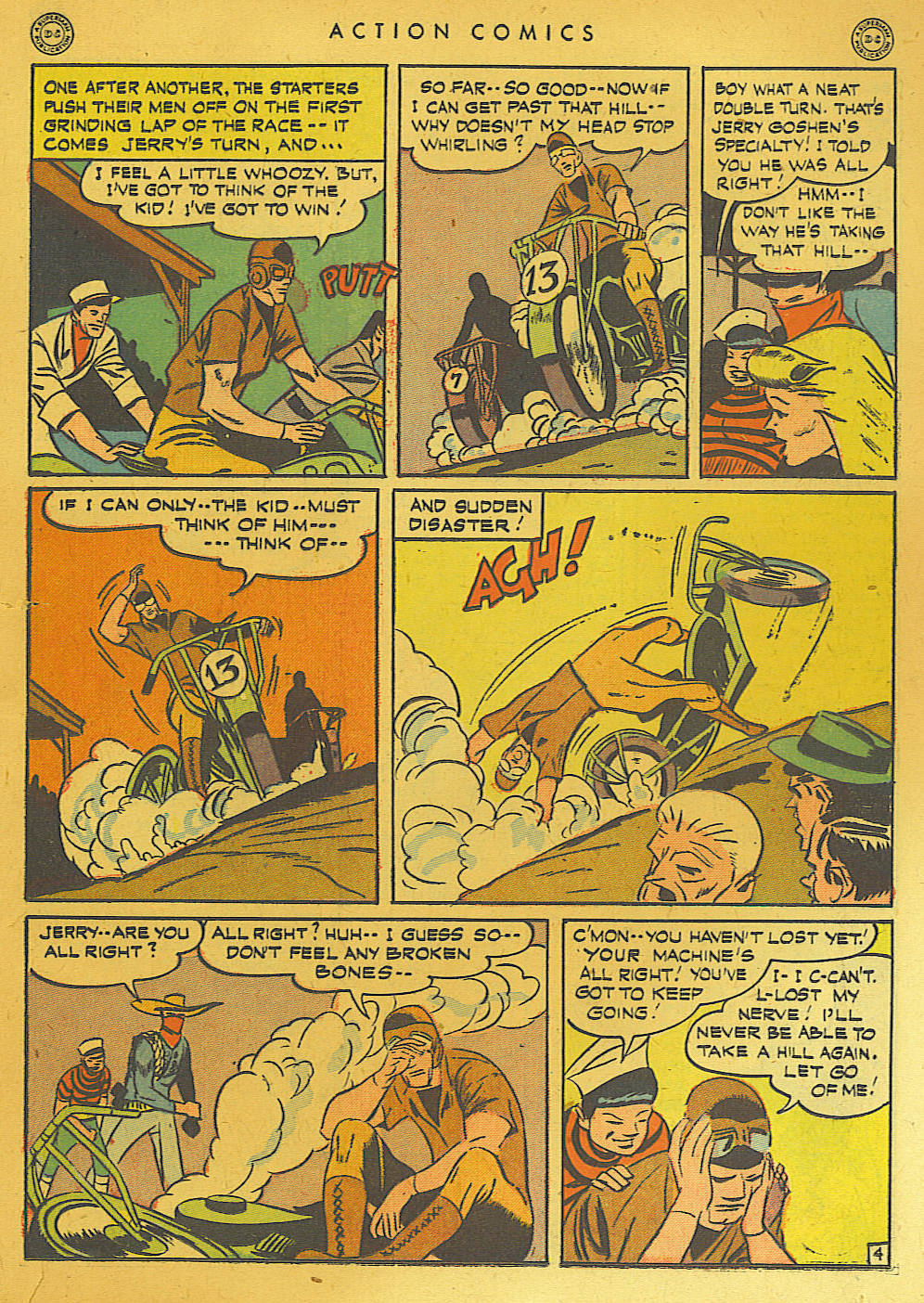Read online Action Comics (1938) comic -  Issue #74 - 19