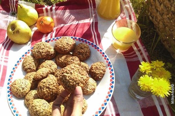 Cookies aux flocons d'avoine et chocolat noir Markal