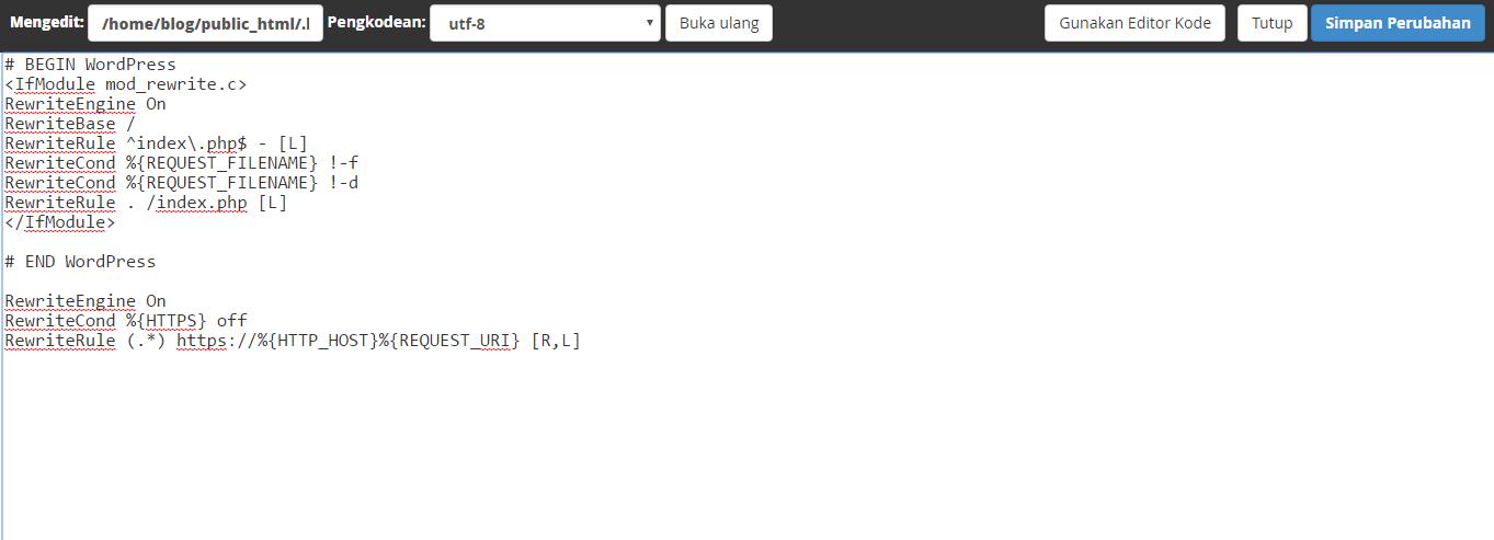 cara merubah http menjadi https di wordpress
