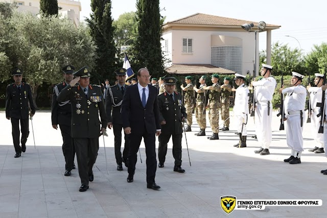 Eπίσημος εορτασμός της Ημέρας των ΕΔ της Κυπριακής Δημοκρατίας (ΦΩΤΟ)