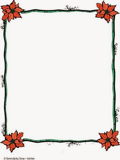 Flowers In Country Style Free Printable Frames Borders