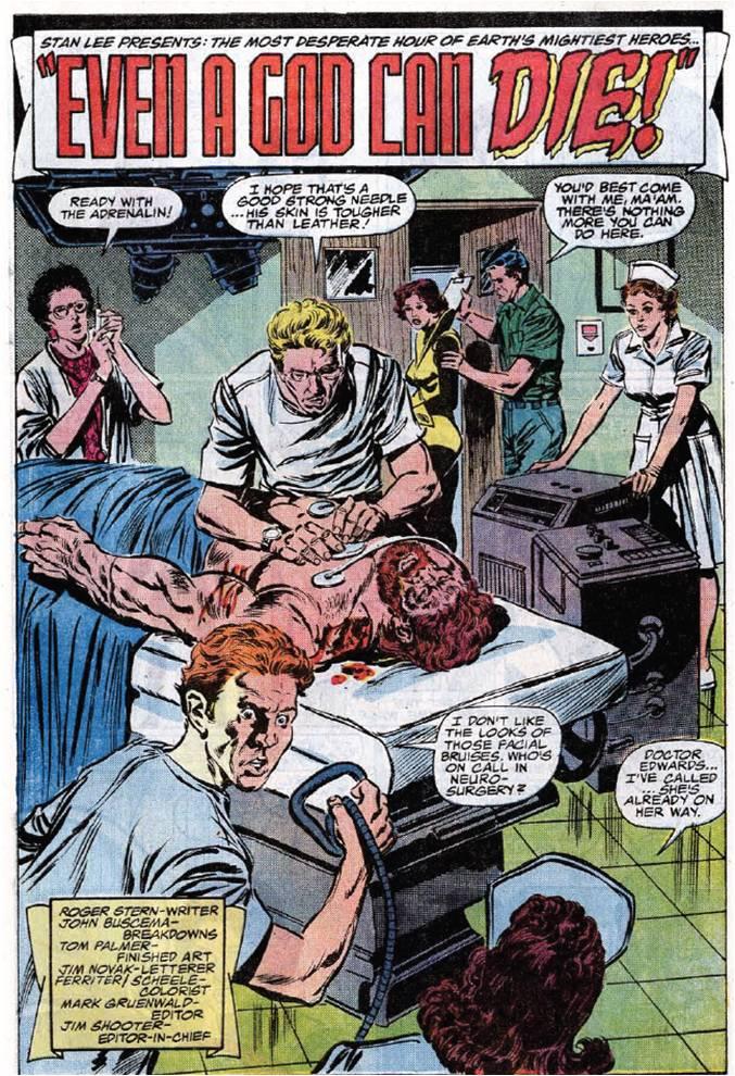 Bronze Age Babies: Under Siege: Avengers 275
