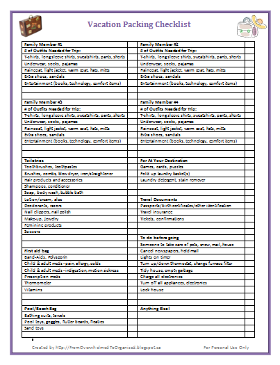 printable packing list you won t forget anything from