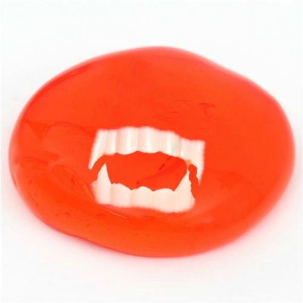 "VAMPIRE BLOOD SLIME-  Frightfully fun for all ages!!  SO real it's ""gross!"""