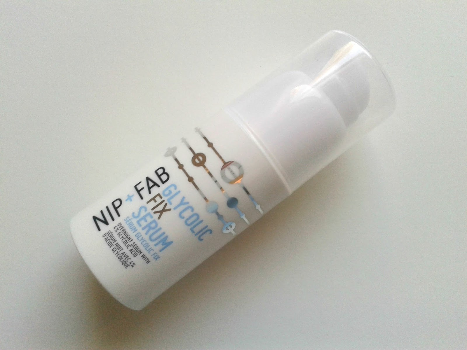 Nip + Fab Glycolic Fix Serum Beauty Review Bedtime Essentials