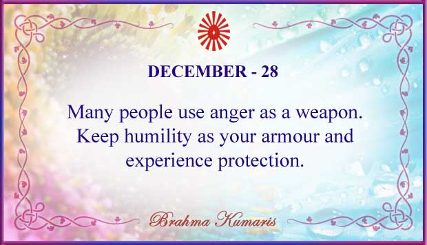 Thought For The Day December 28