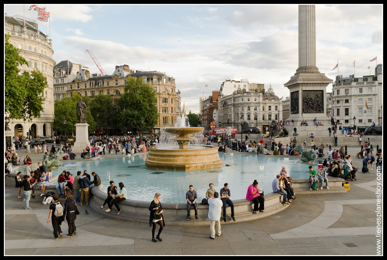 Trafalgar Square Londres (London)