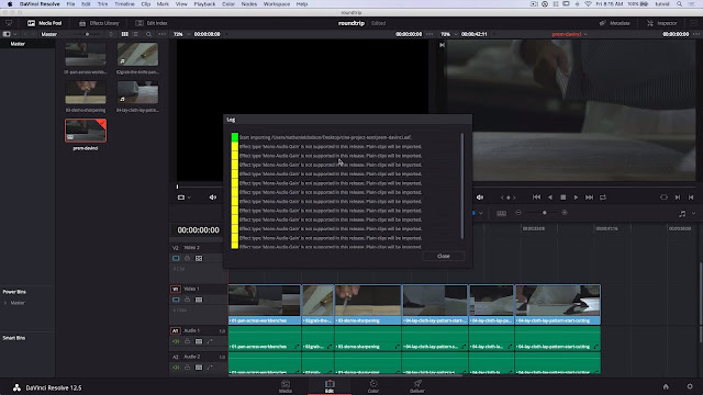 Roundtrip Premiere Pro to Davinci Resolve Color Grading Workflow