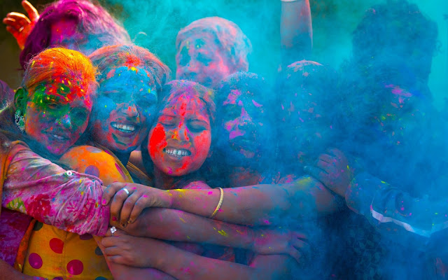 Holi Festival 2019 How The Thwarting of a Hindu Demon King Led to The Colourful Celebration.