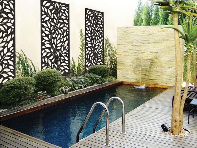 Jarrah Jungle: Courtyard Ideas: Outdoor Decorative Screens
