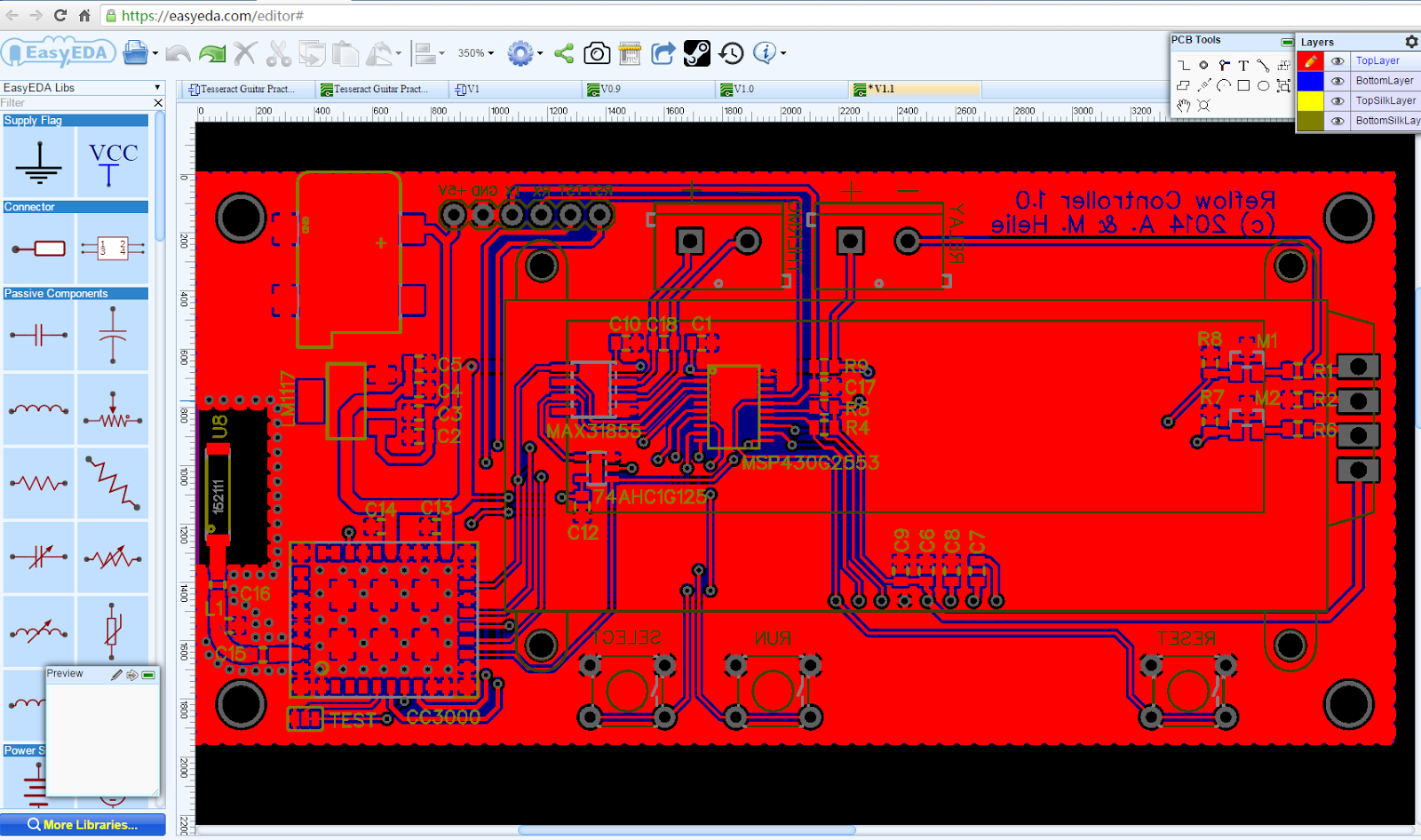 RPiBlog: Design Your First PCB with EasyEDA PCB Fab Service