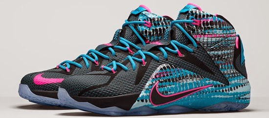 sports shoes c718f 437e7 ... release date known as the 23 chromosomes edition this nike lebron 12  comes in a black