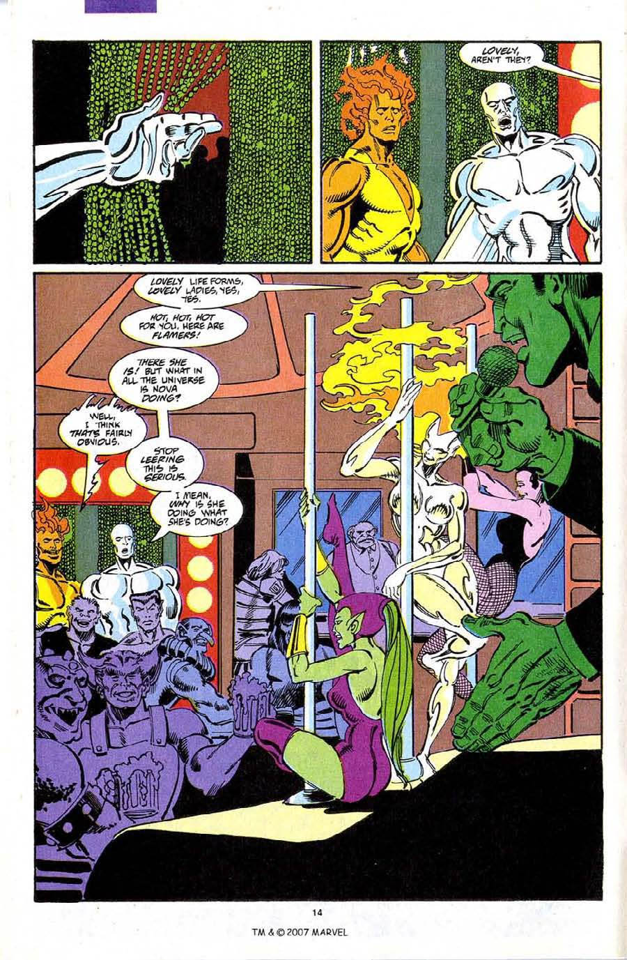 Read online Silver Surfer (1987) comic -  Issue #72 - 16