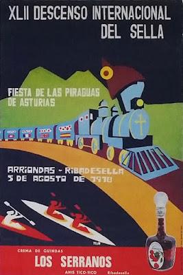 Cartel del 42 Descenso Internacional del Sella, 1978