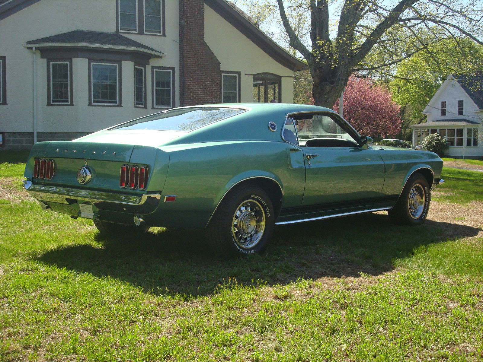1969 mustang gt fastback rotisserie restored for sale american muscle cars. Black Bedroom Furniture Sets. Home Design Ideas