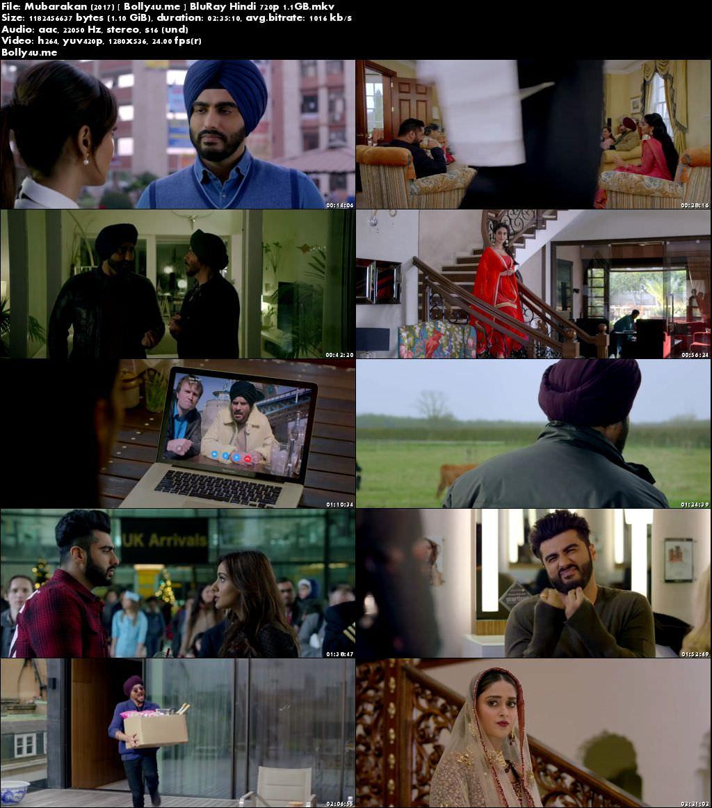 Mubarakan 2017 BluRay 450MB Full Hindi Movie Download 480p