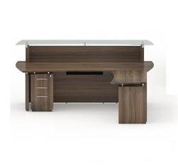 Mayline Sterling Reception Desks at OfficeAnything.com