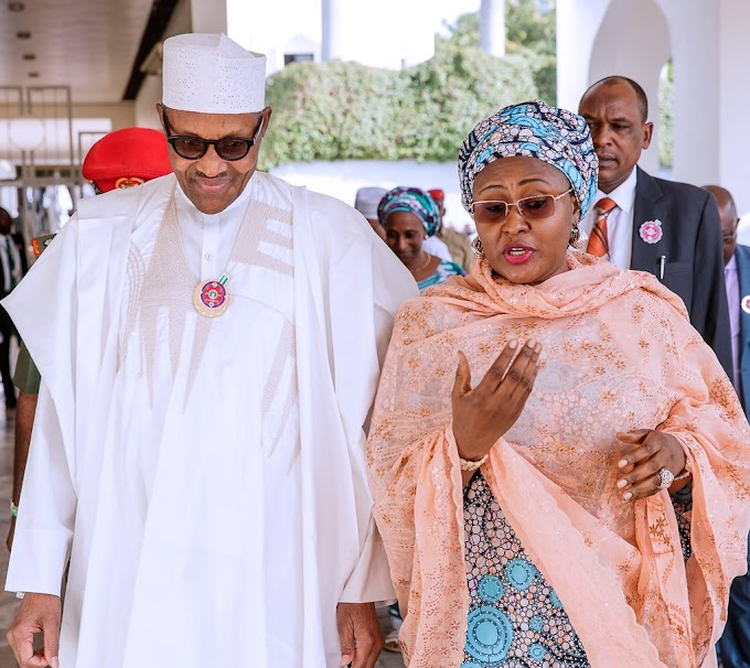 AGAIN! Aisha Buhari Speaks Out Against Something In Nigeria, See What Gov. Wike Said Too