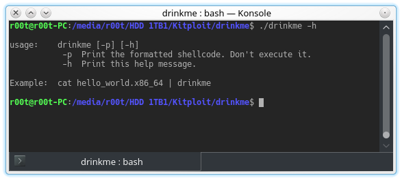drinkme - Shellcode Testing Harness