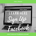 Sign Up Facebook Registration
