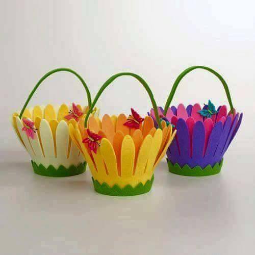 Ide membuat kerajinan menggunakan foam berbentuk tas bunga 5