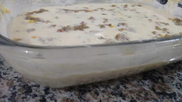 Torta de Sardinha de Micro-ondas