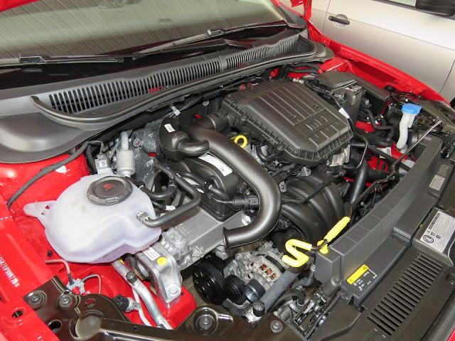 Novo VW Polo 2018 - motor 1.0 MPI - 84 cv