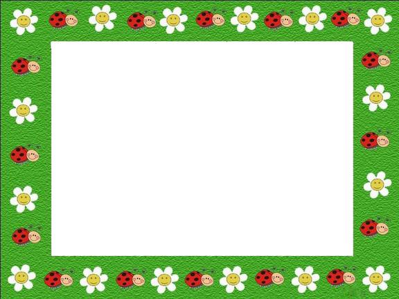 Para hacer invitaciones, tarjetas, marcos de fotos o etiquetas, para imprimir gratis de Mariquitas.