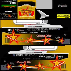 Livery Sempati Star SR2 XHD Prime