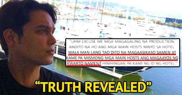 Truth Revealed, Eat Bulaga's Co-host Paolo Ballesteros Suspension Over Facebook Rants