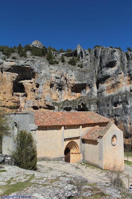 Ermita de San Bartolomé, Parque natural del Cañón del Río Lobos, Soria, Castilla y León
