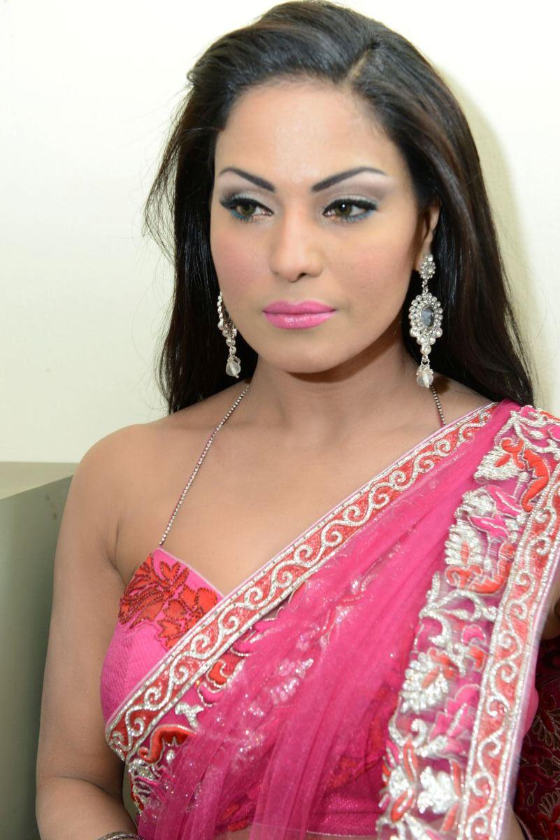 Celeb Pic Veena Malik Latest Stills,Veena Malik In Saree -5088