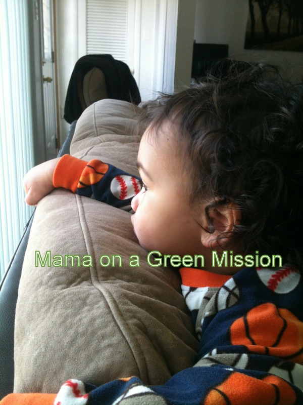 Wordless Wednesday Sick Baby Mama On A Green Mission