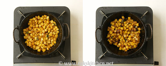 Potato fry step 5