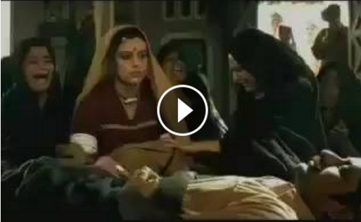 A funny old Camlin ad that many may find offensive now has gone viral.   A man is dead and his widow is being put through the brutal ceremonies. Her bangles are broken, bindi is erased...  Well, it turns out that the bindi cannot be erased as it is applied with  a Camlin marker. As other women mourners struggle to remove the stubbrn bidi,  the dead husband comes alive.