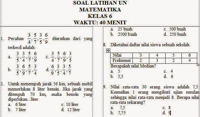 Search Results For Soal Try Out Ipa Dan Kunci Jawaban