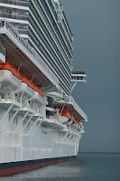Barci de salvare vas de croaziera