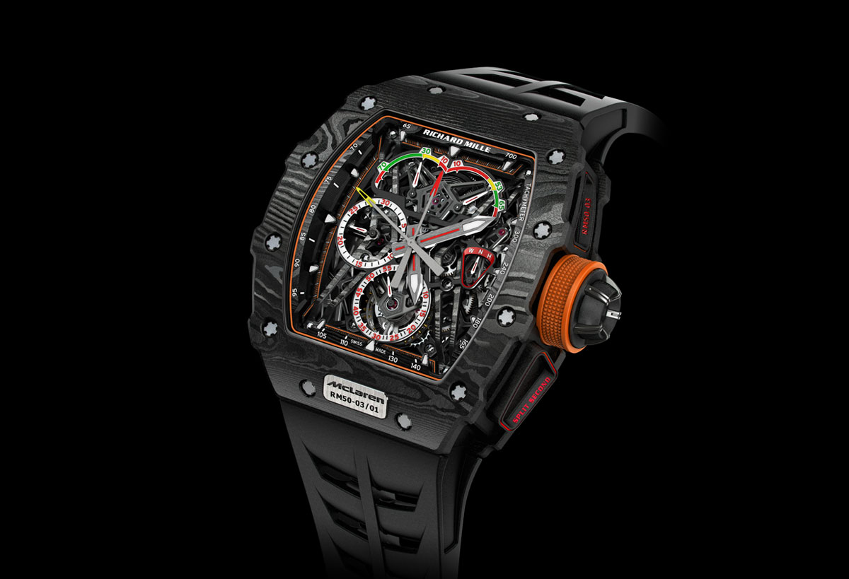 Sihh 2017 Richard Mille Rm 50 03 Mclaren F1 Time And