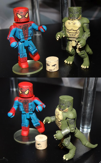 The Amazing Spider-Man Movie Minimates Series - Spider-Man & The Lizard