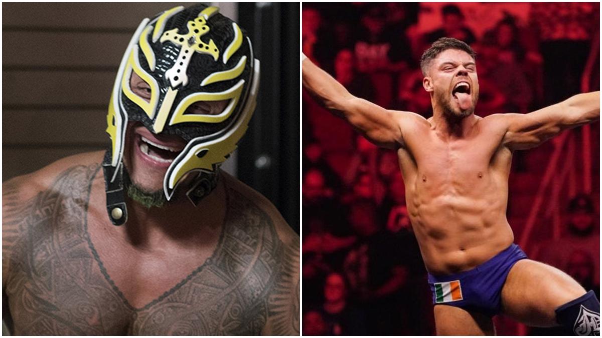 Jordan Devlin quer enfrentar Rey Mysterio pelo título na WrestleMania 36