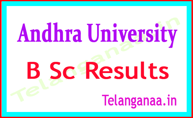 Andhra University B Sc 2018 Revaluation Results