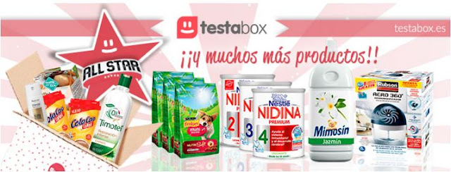 TESTABOX ALL STAR ENERO