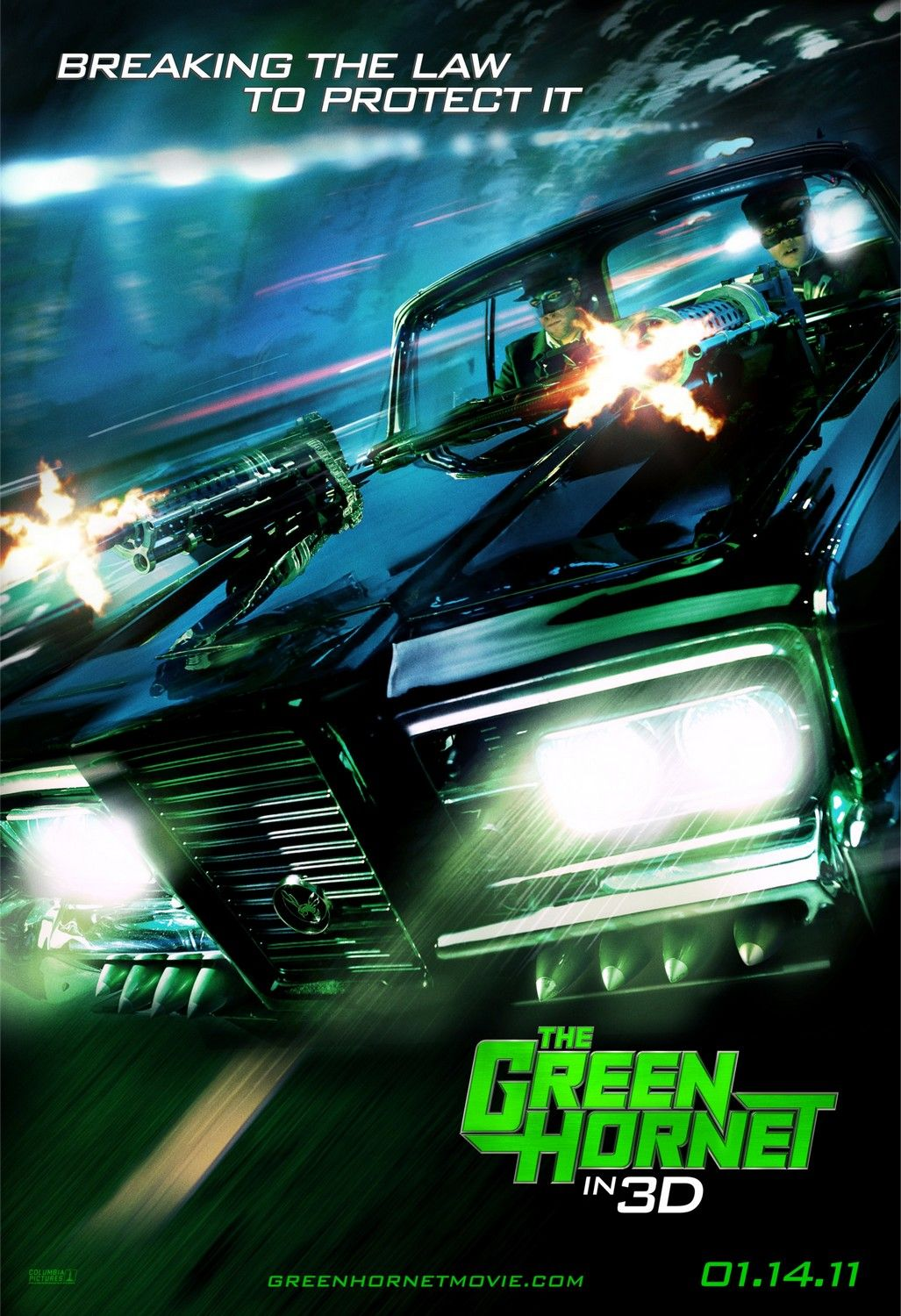 "Movie Review: ""The Green Hornet"" (2011) 