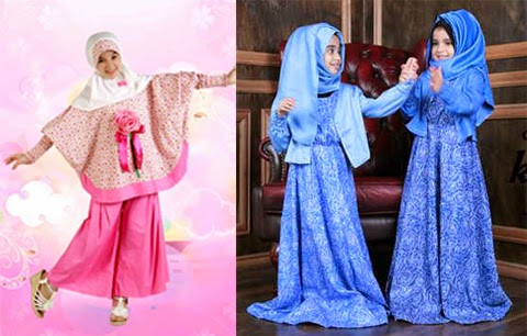 grosir baju muslim anak